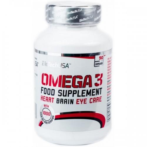 Витамины BioTech (USA) Omega 3 90 капс